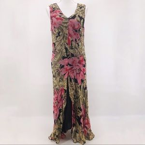 RARE April Cornell Dress  Floral Splendor Dress M